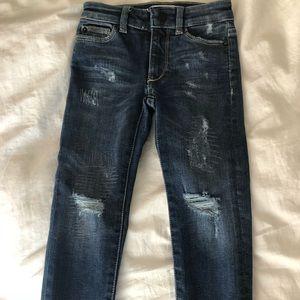 DL1961 Chloe Skinny distressed jeans